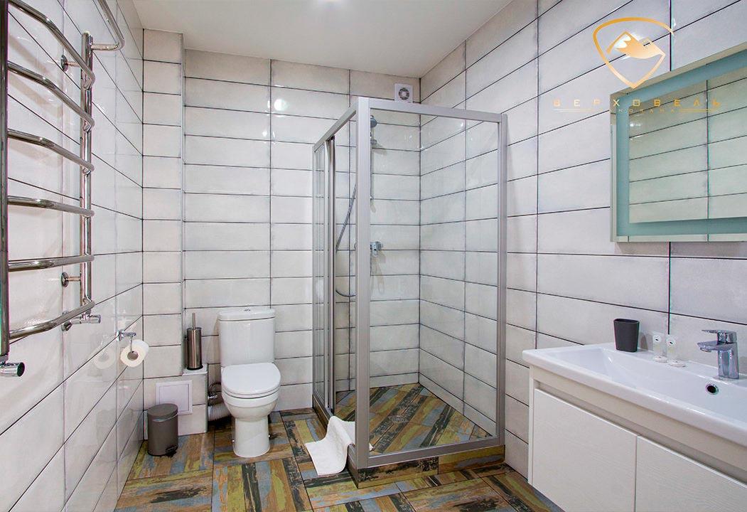 Ванная комната номера Люкс, Верховель